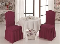 Чехлы для стула (2шт.) бургундские