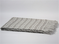 Плед MINA TM Pure Nature лен/шерсть Литва